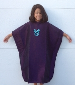 Child's Cape, Embroidered